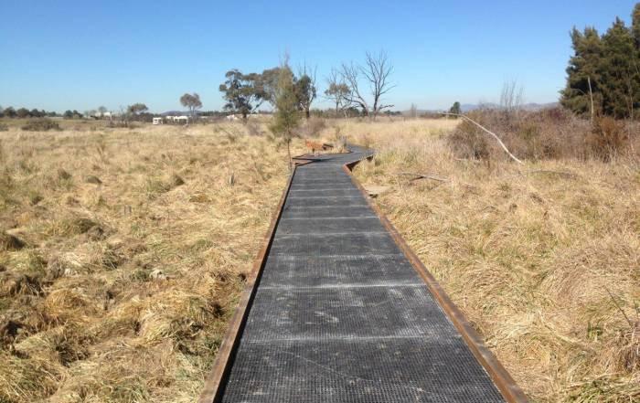 Grating FRP Australia | FRP Mini Mesh - Jerrabomberra Wetlands