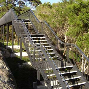 Grating FRP Australia | FRP STAIR TREADS AND HANDRAIL SYSTEM